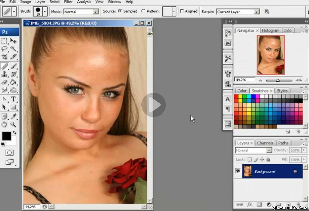 Как сделать красивую фотографию в фотошопе с
